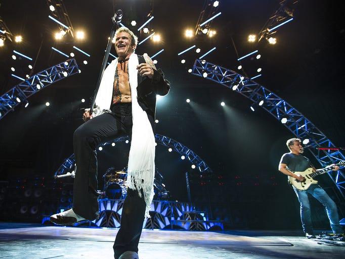 Van Halen plays to an appreciative crowd Monday night,