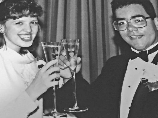 Tim and Heather Urena 6-16-1990