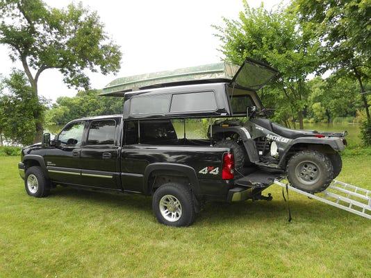 Ez Lift Lets Truck Bed Cap Rise Convert To Camper