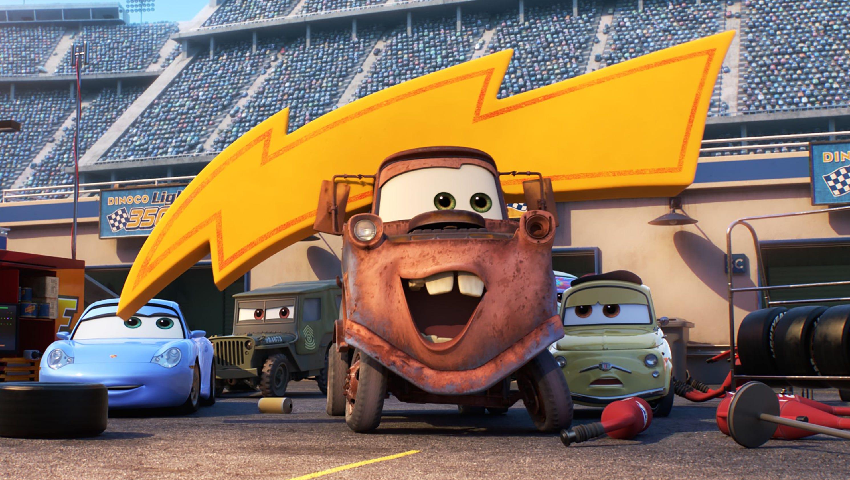 review 39 cars 3 39 revs up pixar 39 s idling animated franchise. Black Bedroom Furniture Sets. Home Design Ideas