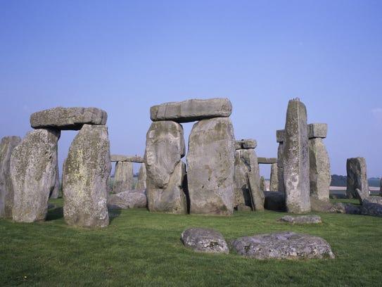 Stonehenge in Wiltshire, England.