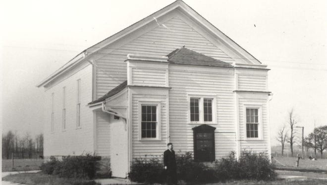 Mulleton Methodist Church, now the west wing of the former E.U.B church in Cascade.