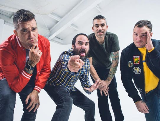 New Found Glory performs at the Rave Saturday.