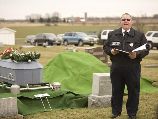Fond du Lac County Jane Doe was laid to rest on Dec.