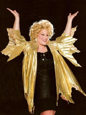 Sherie Rae Parker will perform a Bette Midler tribute concert at the Visalia Fox this week.