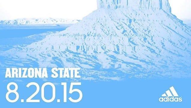 "ASU will unveil ""Desert Ice"" uniforms Thursday."