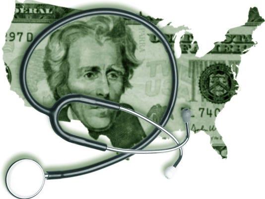 US health care illustration