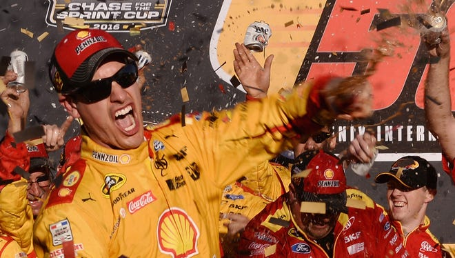 Joey Logano won at Phoenix to advance to the Chase for the Sprint Cup finale.