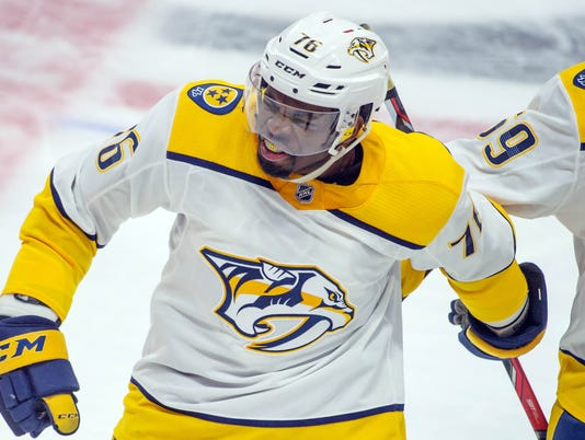 NHL: Nashville Predators at Ottawa Senators