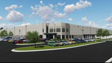 Rendering of DeSoto 55 Logistics Center