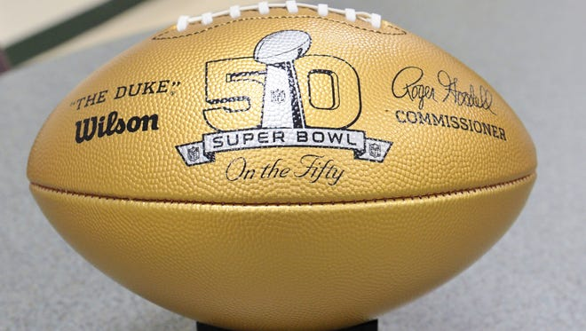 High schools whose alumni went on to Super Bowl appearances were to receive a golden football from the NFL through its Super Bowl High School Honor Roll program. Locally, Dover, Gettysburg and William Penn were to receive one.