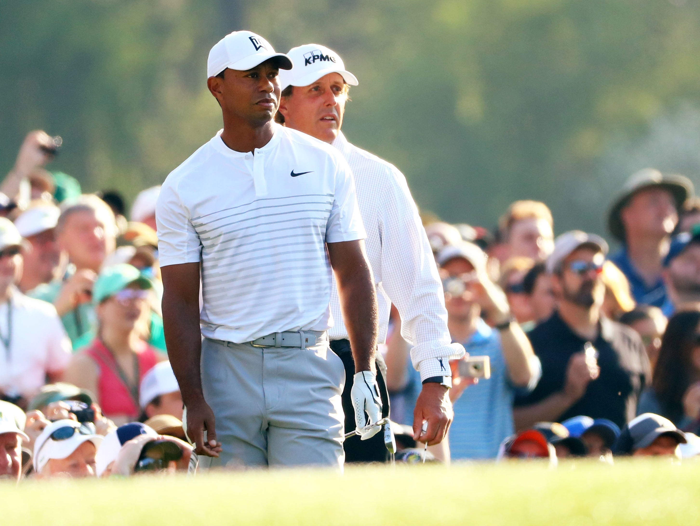 masters  tiger woods tee times set for first two rounds at