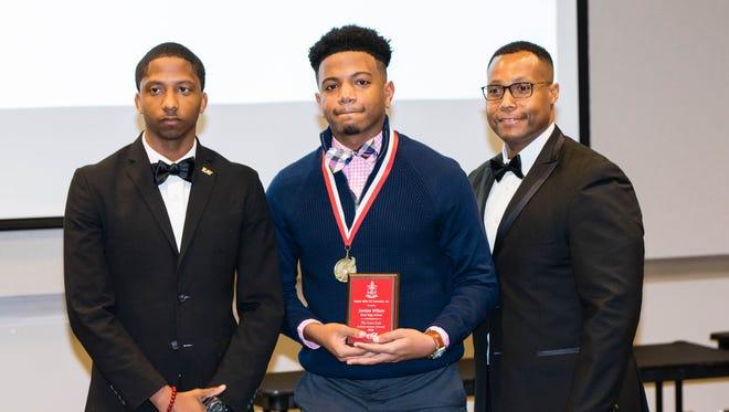Jordan Wilson of Petal High School received a Coca-Cola Achievement Award.