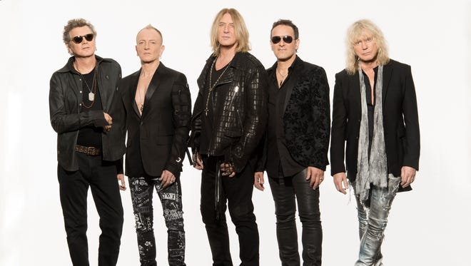 Def Leppard plays U.S. Bank Arena with journey on Wednesday.