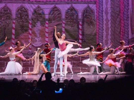 """More than 50 dancers are part of Ithaca Ballet's production of """"The Nutcracker"""" at State Theatre this weekend."""