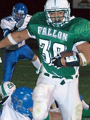 Josh Mauga was a stud at Fallon before advancing to