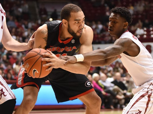 NCAA Basketball: Georgia at Alabama