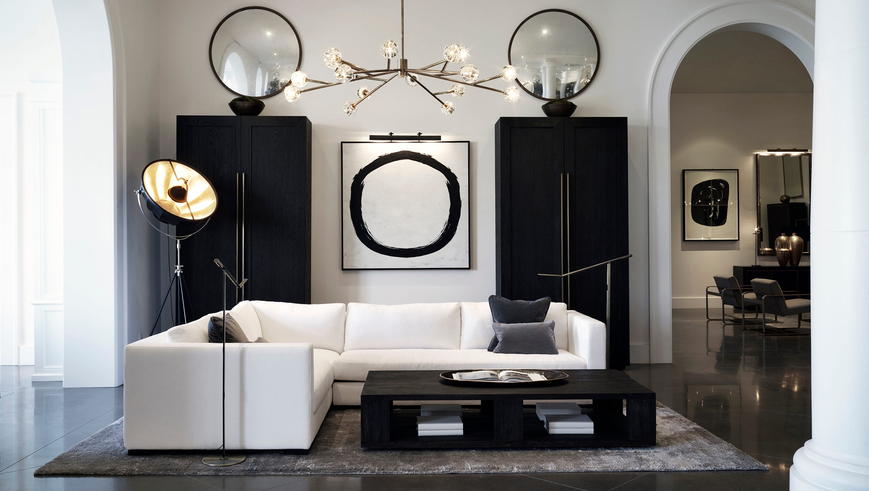 Inspired Interiors Restoration Hardware Launches Modern Collection