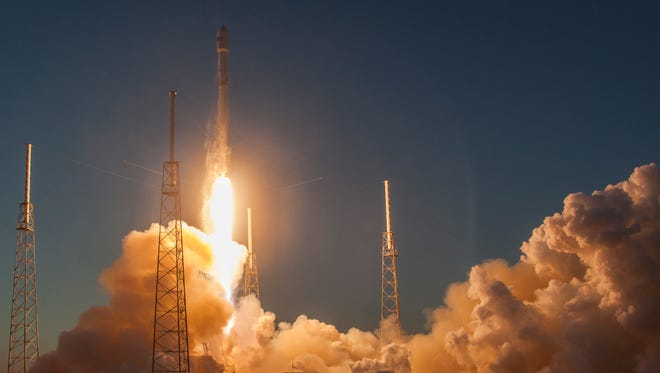 On Feb. 11, a SpaceX Falcon 9 rocket launched the Deep Space Climate Observatory mission from Cape Canaveral for NOAA and NASA.
