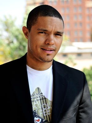South African comedian Trevor Noah, seen here in 2009, is set to take the helm at 'The Daily Show.'