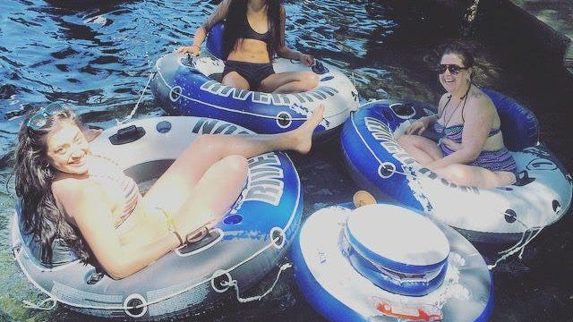 Camp Folks has several tubing trips planned for summer.