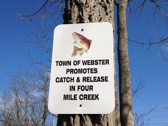 Catch and Release sign