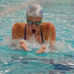 Lakeland's Isabel Fairbanks was Oakland County champ in the 100-yard breaststroke.
