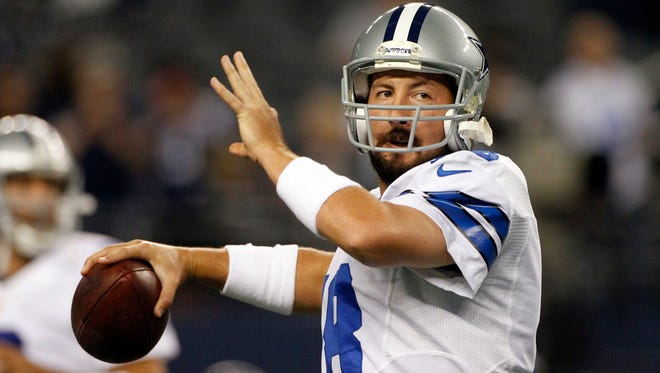 The Dallas Cowboys are releasing Kyle Orton after their backup quarterback missed all the offseason workouts amid reports that he was considering retirement, Tuesday, July 15, 2014.