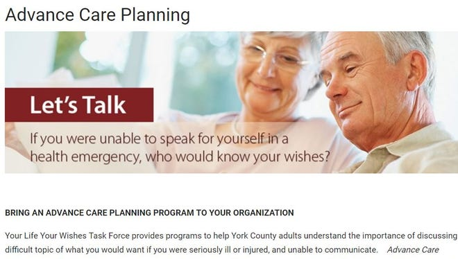 Advance care planning is important to discuss with family and physicians.