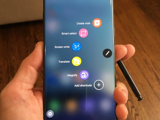 Galaxy Note 7 S Pen options