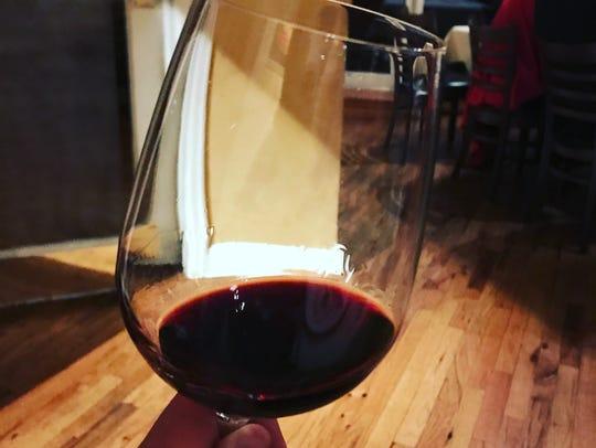 A 2003 Latour Paulliac wine served at a 2017 food bank