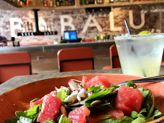 Babalu will feature this watermelon salad prepared