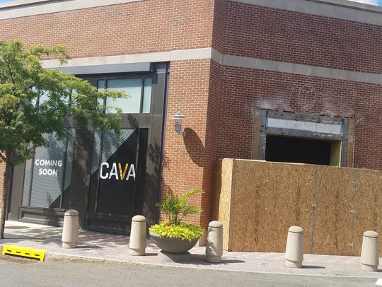 CAVA, a casual Meditterean restaurant, will occupy