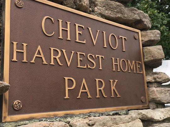 Cheviot Harvest Home Park, the site of the annual Harvest