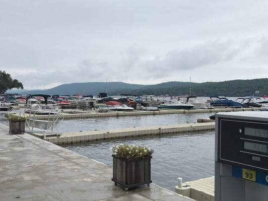 West Milford's Sportsmans Marina, as seen on Sept. 6, 2017, is where Edwin and Mary Lane docked their boat prior to the Labor Day 2016 hit-and-run on Greenwood Lake that ultimately took Edwin Lane's life.