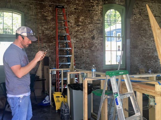 """""""I've never been the contractor before,""""owner Joe Ross said, but he's stepped into the role here."""