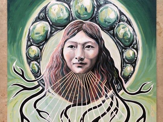 """Native,"" by artist Amanda Boekhout."