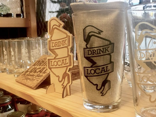 Drink Local glassware