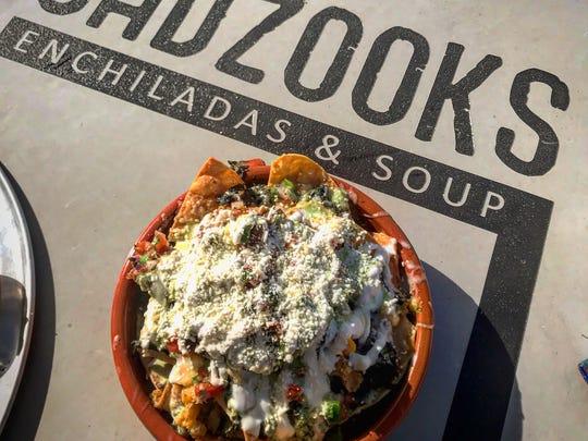 Food at Gadzooks Enchiladas & Soup.
