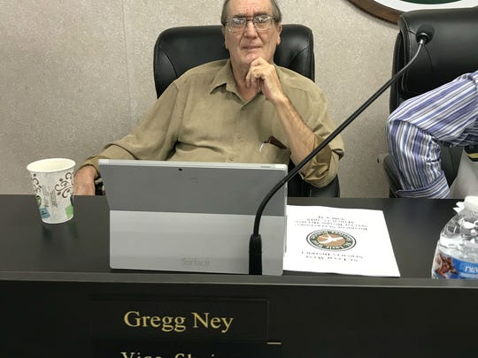 St. Lucie West Services District Supervisor Gregg Ney