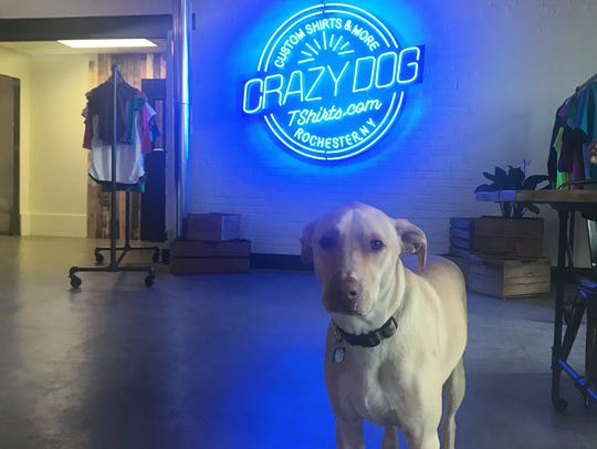 Crazy Dog T-Shirts expanded its Rochester location