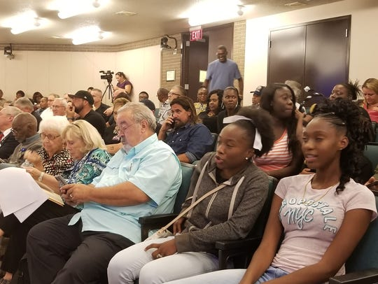 Fort Myers City Council chamber was jammed Monday evening