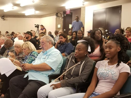Fort Myers City Council chamber was jammed Monday evening for a session that included another discussion of monuments to Robert E. Lee in the county. The Fort Myers city attorney said afterward that the discussion could continue for years, since only a joint city-county solution can deal with the problem.