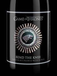 Brewery Ommegang's Bend the Knee Golden Ale