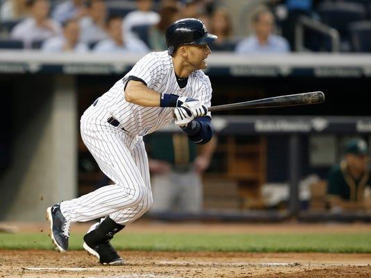 Athletics Yankees Baseball