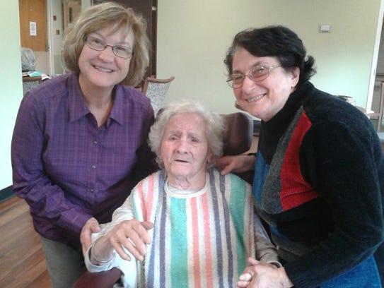 From left: Janice Miller, ESL Program Coordinator;