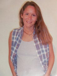 A photo of Lisa Harris taken while she was in prison