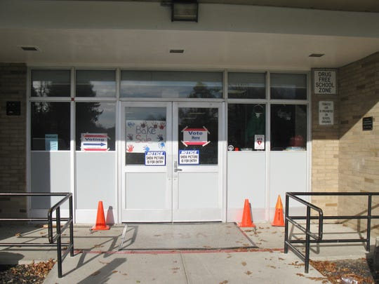The entrance of Vassar Elementary School in the Wappingers district
