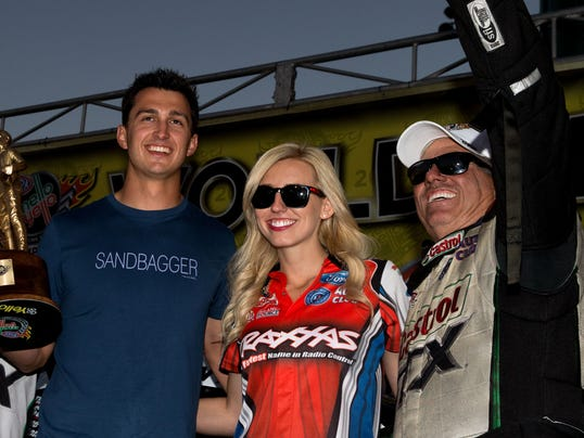Bobby Rahal Toyota >> John Force offers daughter's boyfriend Funny Car ride