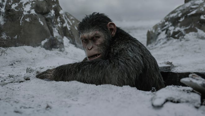 """A showdown is coming in """"War for the Planet of the Apes."""""""